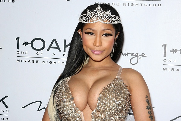Nicki Minaj twerks with might and money