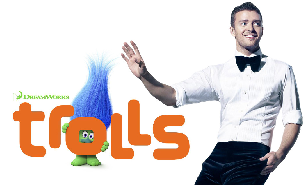 JUSTIN TIMBERLAKE JOINS DREAMWORKS ANIMATION'S TROLLS (PRNewsFoto/DreamWorks Animation)