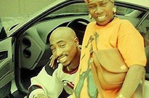 2pac and his mother