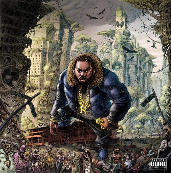 Raekwon The Wild Album Cover Art